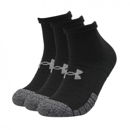 Ponožky Under Armour Heatgear Locut Black Sock 3-Pack