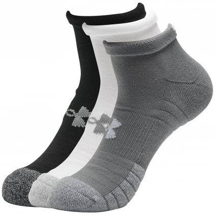 Ponožky Under Armour Heatgear Locut GRY Steel Sock 3-Pack