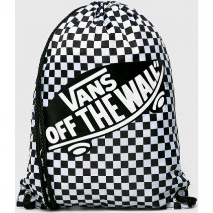 Vak VANS WM Benched Bag Black/White Check