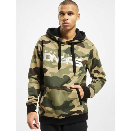 Pánska mikina Dangerous DNGRS / Hoodie Classic in camouflage