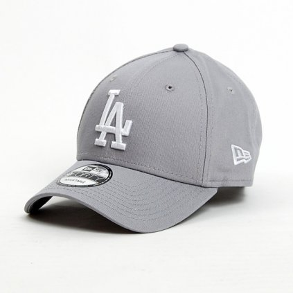 new era 9forty mlb reverse team la dodgers grey 55210