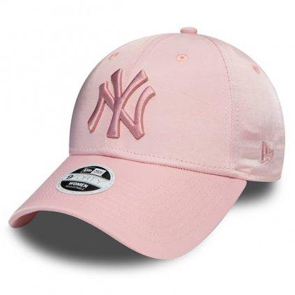 new era 9forty womens ny yankees satin pink 55180