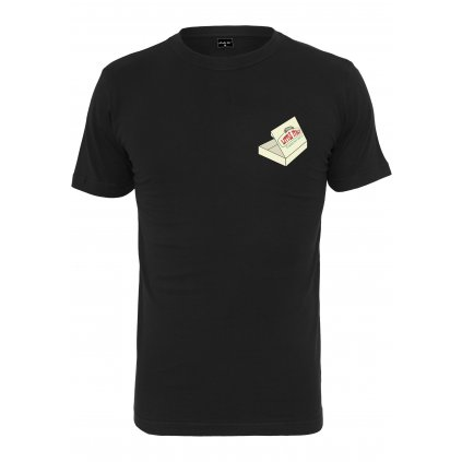 Pánske tričko MR.TEE Pizza Francesco Tee black