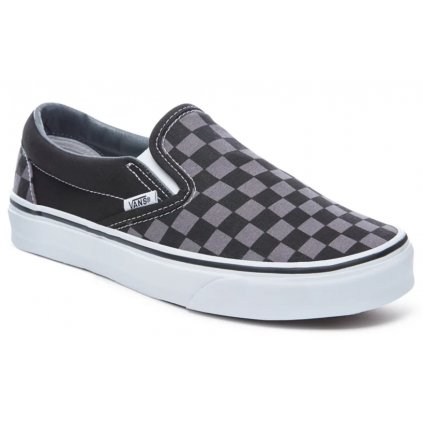 Tenisky Vans Classic Slip-On black/pewter checkerboard