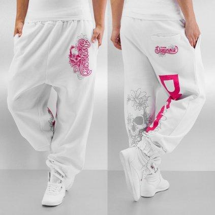 dangerous dngrs flower sweatpants white 50087