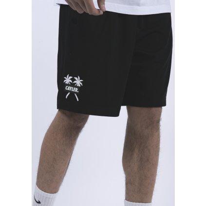 Pánske kraťasy C&S WL Statement Palms Mesh Shorts