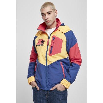Pánska bunda Starter Multicolored Logo Jacket