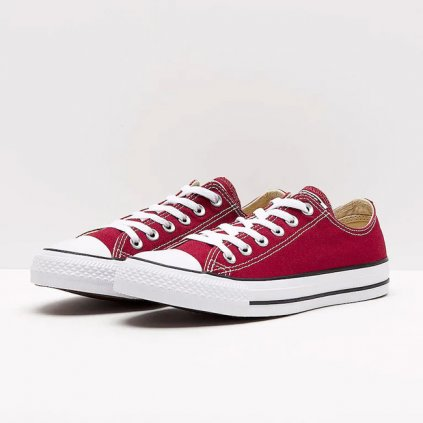 converse chuck taylor all star seasonal ox maroon 80355