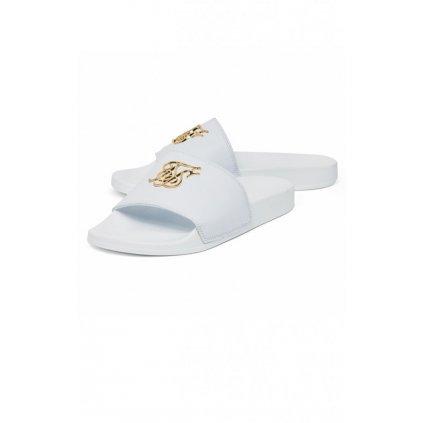 siksilk roma lux slides white gold p2969 25855 medium