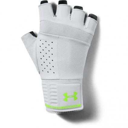 Pánske rukavice na cvičenie Under Armour UA Men's Weightlifting Glove-GRY