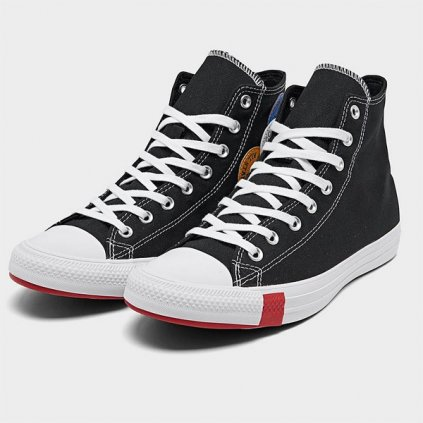 converse chuck taylor all star multi logo hight top black 81898