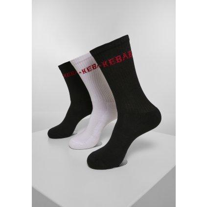 Ponožky MR.TEE Kebab Socks 3-Pack