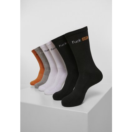 Ponožky MR.TEE Fuck Off Socks 6-Pack