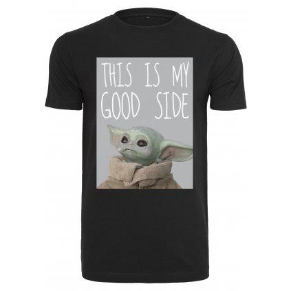 Pánske tričko MERCHCODE Baby Yoda Good Side Tee