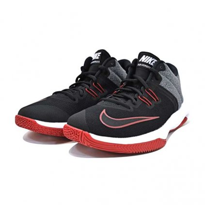 NIKE AIR VERSTILE II BLACK WHITE RED NKK1118B V4