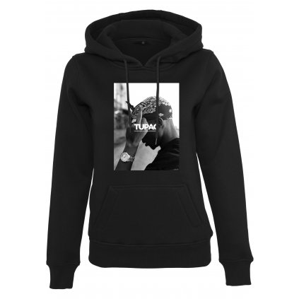Dámska mikina MR.TEE Ladies 2Pac F*ck the World Hoody
