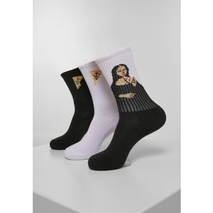 Ponožky MR.TEE Arti Pizza Sport Socks 3-Pack