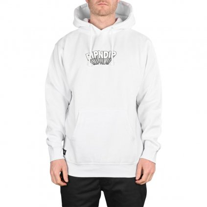 RIPNDIP Mind Blown Pullover Hoodie White 6