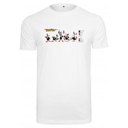 Pánske tričko MERCHCODE Looney Tunes Daffy Colour Code Tee