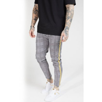 siksilk fitted smart tape jogger pant dogtooth check p4017 39886 medium (1)