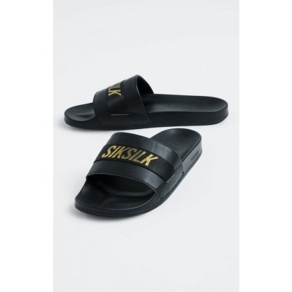 siksilk roma tape slides black gold p4678 43686 medium