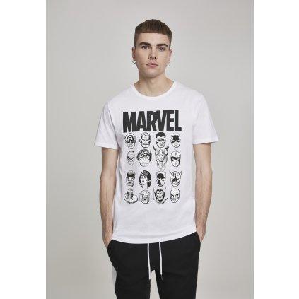 Pánske tričko MERCHCODE Marvel Crew Tee