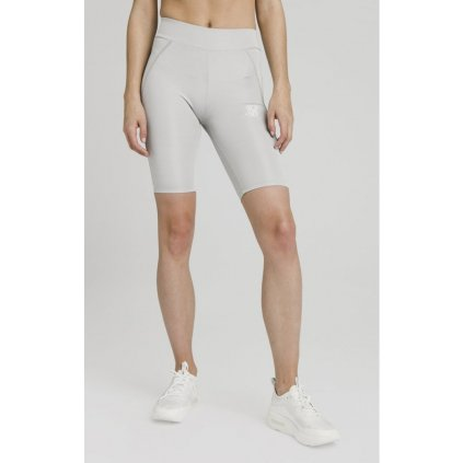 siksilk disco cycle shorts silver p4224 37936 medium