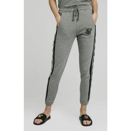 siksilk panel tape joggers grey marl p4157 38249 medium