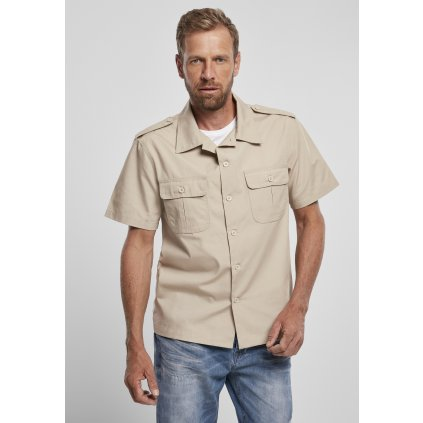 Pánska košeľa BRANDIT US Shirt Ripstop shortsleeve