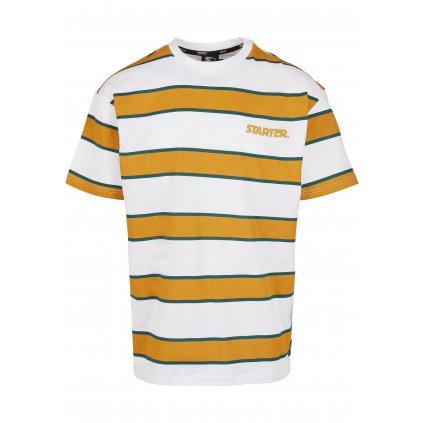 Pánske tričko STARTER Logo Striped Tee