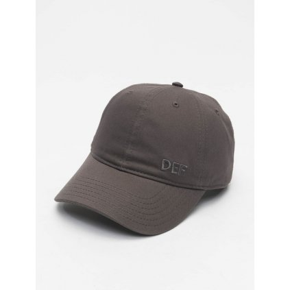 Šiltovka DEF / Snapback Cap Daddy in grey