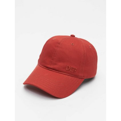 Šiltovka DEF / Snapback Cap Daddy in red