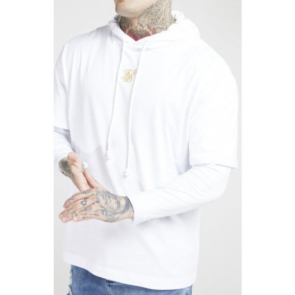 siksilk l s essential undergarment chain cuff tee white gold p4005 39211 medium