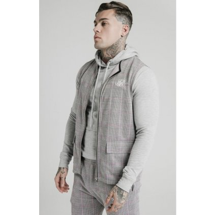 siksilk smart wear vest grey pink p4737 45179 medium