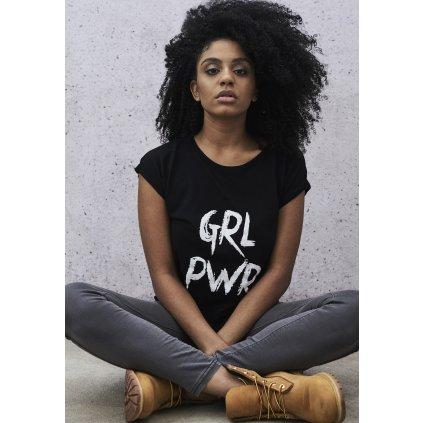 Dámske tričko MR.TEE Ladies GRL PWR Tee