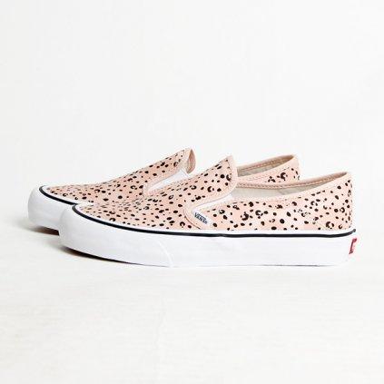 vans leila hurst slip on surf shoes tiny animals 79450
