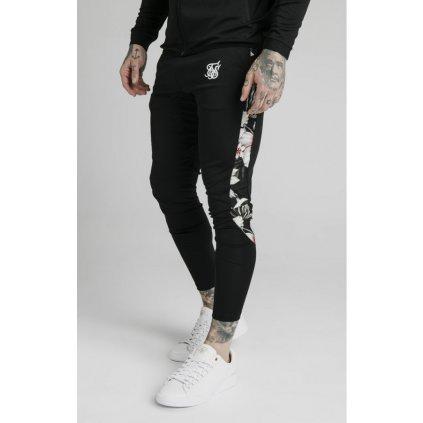 siksilk scope floral panel track pants black p5214 50448 medium