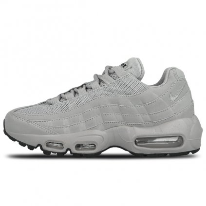 nike wmns air max 95 shoe matte silver sail black 49352