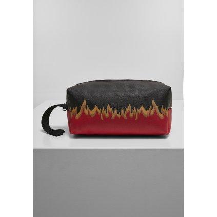 Kozmetická taška MR.TEE Flame Print Cosmetic Pouch