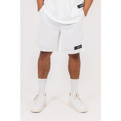 Pánske kraťasy SIXTH JUNE Short mesh logo blanc