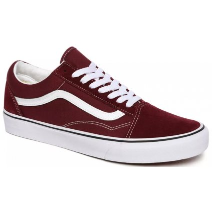 Tenisky Vans Old Skool port royale/true white