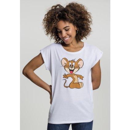 Dámske tričko MERCHCODE Ladies Tom & Jerry Mouse