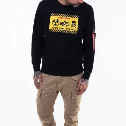 alpha industries radioactive sweater 91939