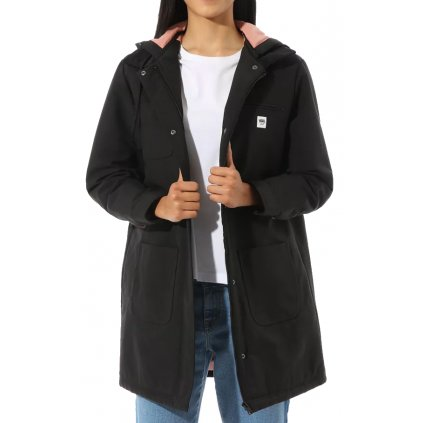 Dámska bunda Vans Drill Long Chore Coat MTE black
