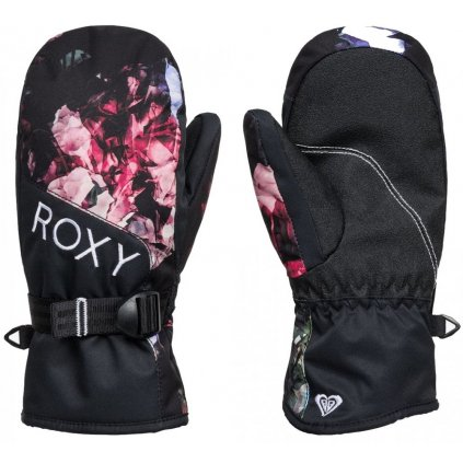 Dámske rukavice Roxy Jetty Mitt true black blooming party