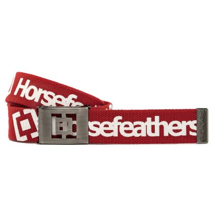 Opasok Horsefeathers Idol red