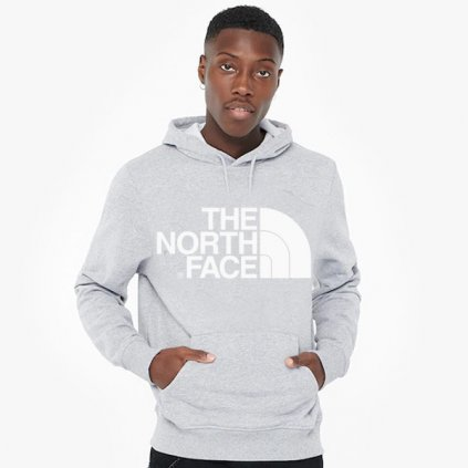 the north face standard hoodie tnf light grey 89725