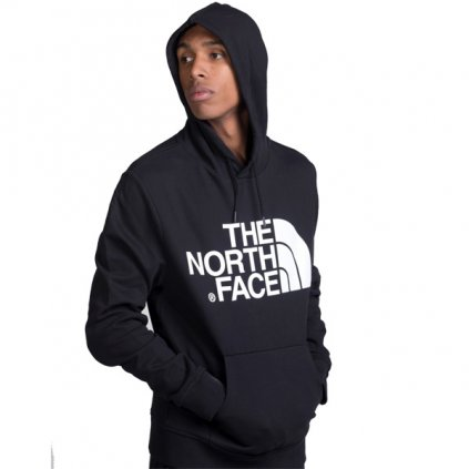 the north face standard hoodie tnf light black 90011