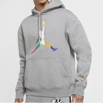 air jordan sport dna hoodie grey 93569