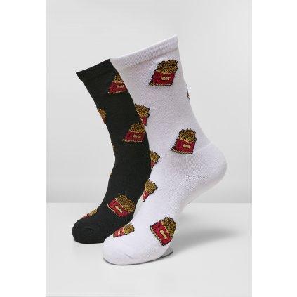 Ponožky MR.TEE French Fries Socks 2-Pack